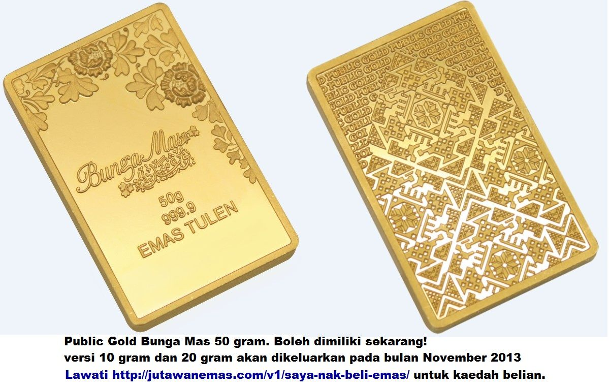 Public Gold Bunga Mas 50 Gram A Beautiful Malay Motive Gold Bar Available From Public Gold Now Gold Bar Gold Beautiful