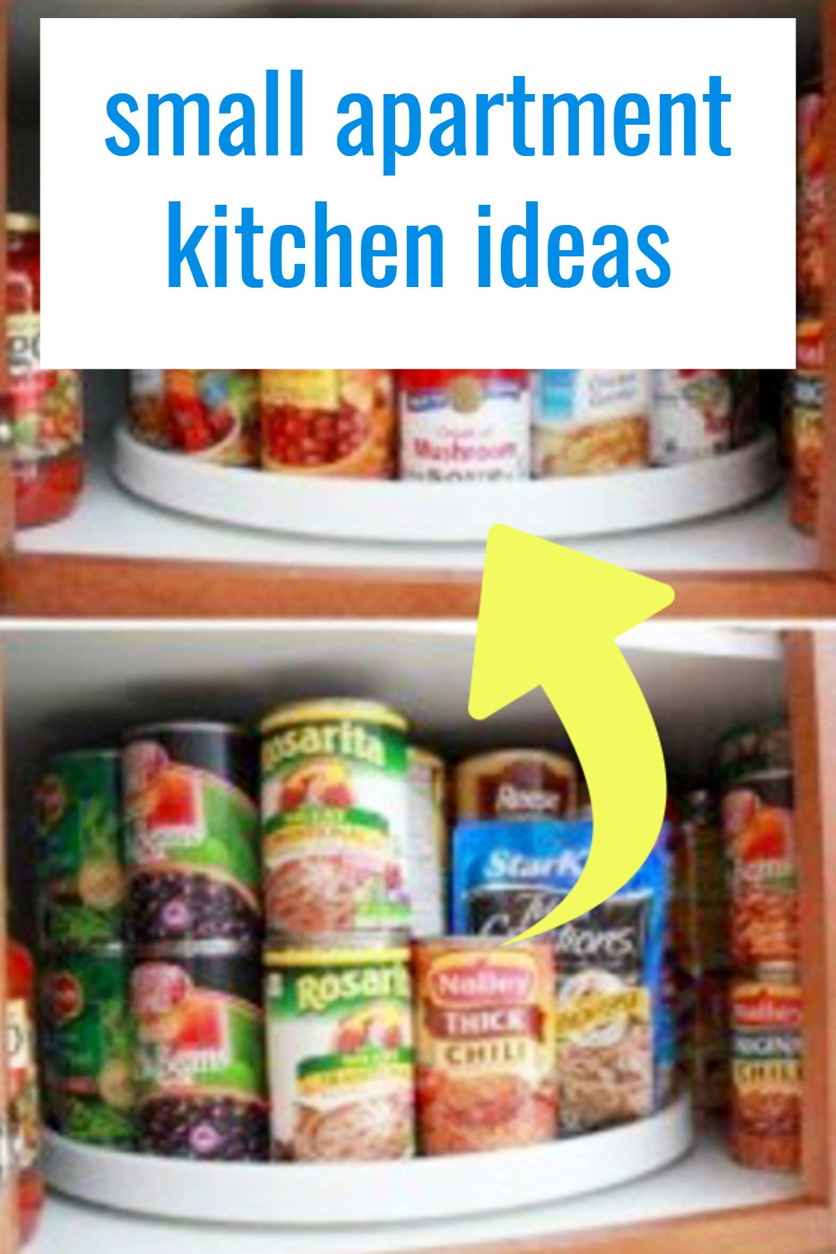 Small Apartment Kitchen Storage Ideas That Won't Risk Your Deposit images
