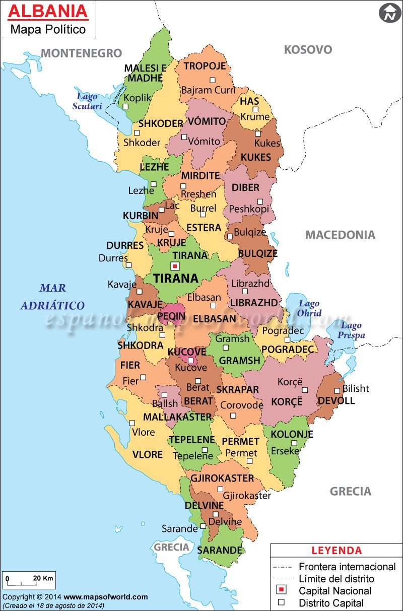 albania mapa Albania Mapa | Mapa de Países | Pinterest | Albania albania mapa