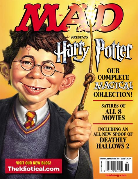 Mad Magazine Harry Potter Mad Magazine Mad Magazine