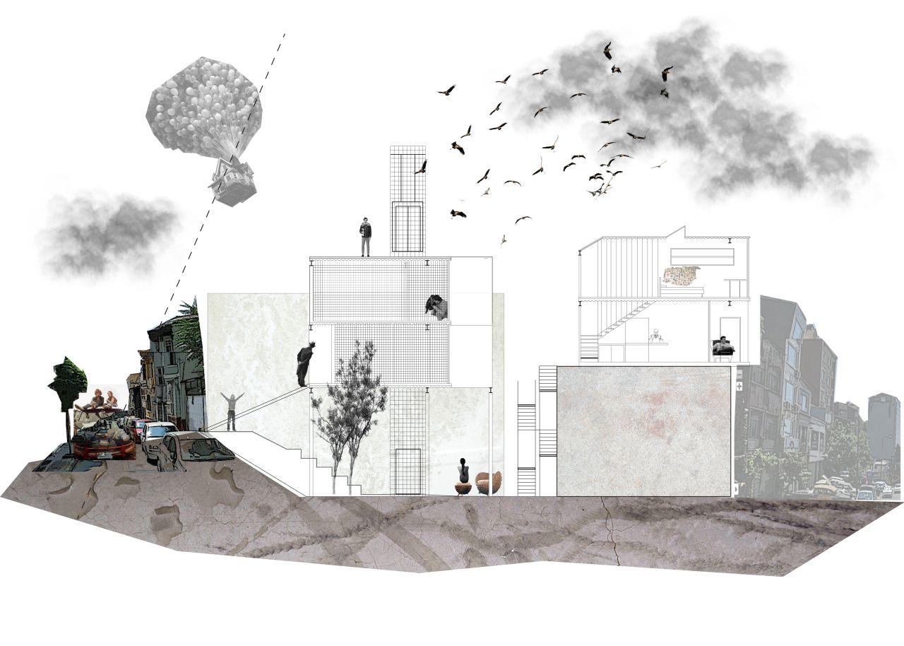 Vysledok Vyhladavania Obrazkov Pre Dopyt Architectural Collage