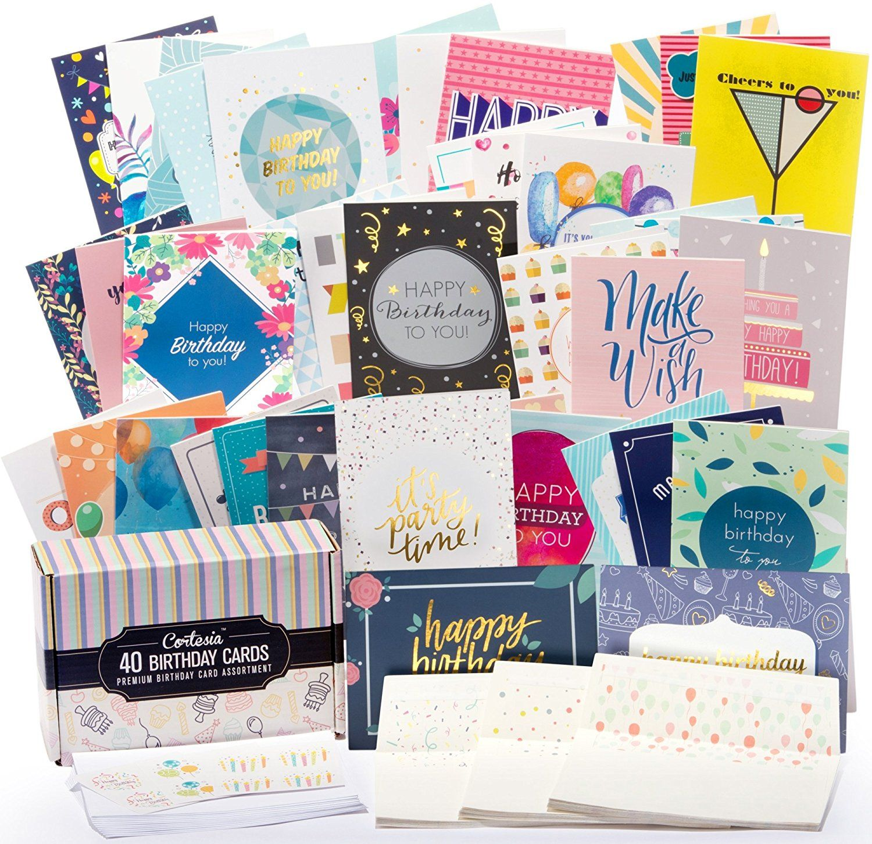 40 Happy Birthday Cards - Delivery Of Pleasure
