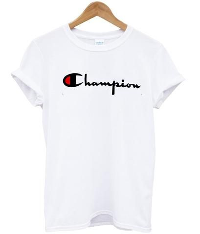 209c5109f4aa champion tshirt #clothing | Stuff to Buy | Champion clothing, Shirts ...