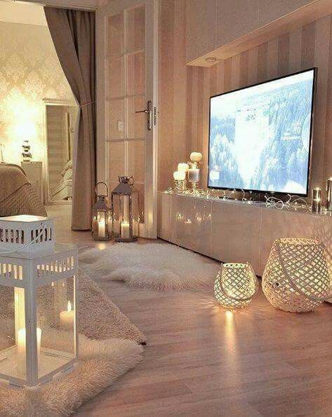 Living Room Glam Chic Interior Design Decor Modern Cozy