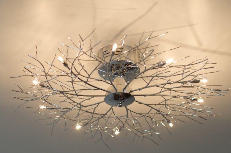Plafoniere E Lampadari Moderni : Plafoniera design 10 luci cromo lampada da soffitto lampadario