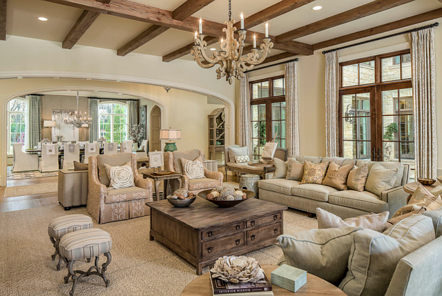 From A Dallas Mansion This Family Room Is Stunning I Love The