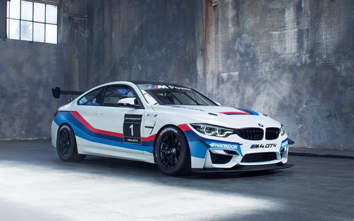 Descargar fondos de pantalla BMW M4 GT4, 2017 cars sportcars, el BMW Motorsport de BMW