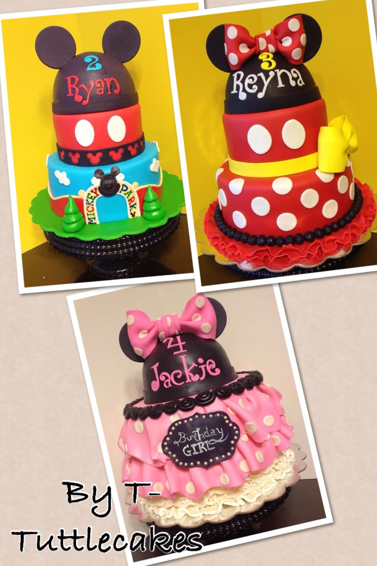 The Kids Birthday Cakes Made By T Tuttlecakes In Fayetteville Nc
