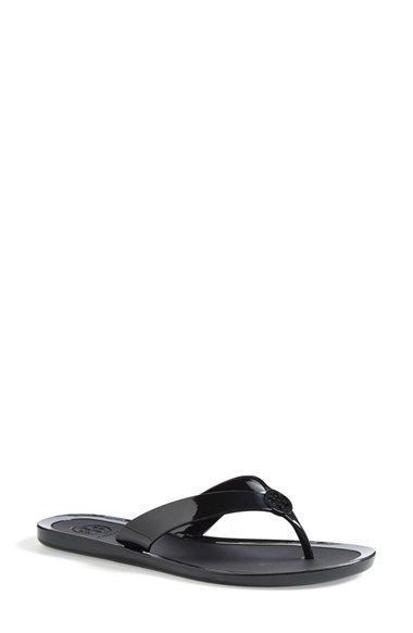 2095e40622dad5 Tory Burch Logo Jelly Flip Flop (Women) available at  Nordstrom ...