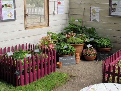 Belle idee d co jardin potager idee deco jardin jardin for Amenagement potager idees