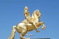Goldener Reiter, Dresden Augustus the Strong