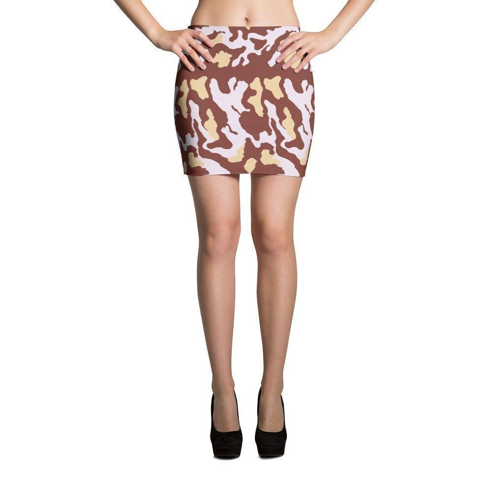 Italy 1929 Fall CAMO Mini Skirts