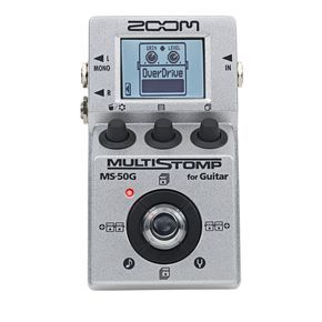 zoom multistomp ms50g pedal guitar tuners guitar pedals guitar. Black Bedroom Furniture Sets. Home Design Ideas