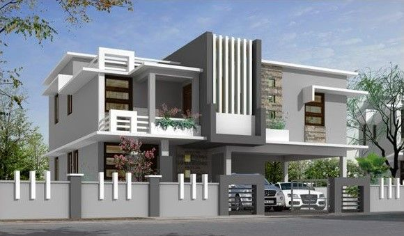 Compound Wall Designs For House In India Compound Wall Design House Outside Design Front Wall Design