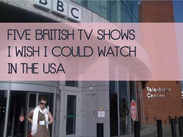 As a Brit living in the USA, there are some TV shows I
