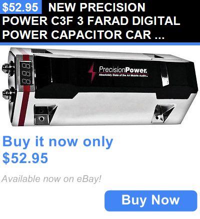 Capacitors: New Precision Power C3f 3 Farad Digital Power