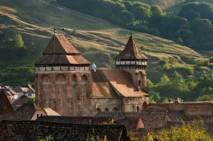 Saint Peter fortified church,  Valea Viilor, Sibiu county, Transilvania, Romania