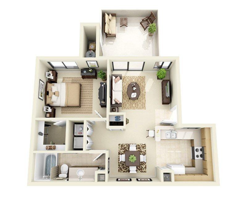 Floor Plans Of Towne Square Apartments In Chandler Az Studio Apartment Floor Plans Apartment Layout Apartment Floor Plans