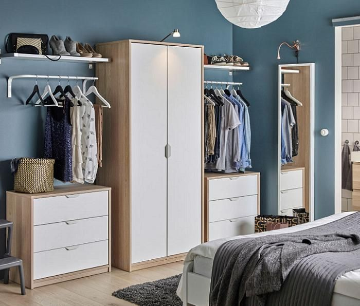 Como hacer un vestidor ikea peque o en la habitacion for Armarios de habitacion ikea