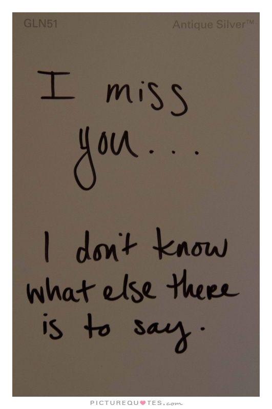 Miss You Sad Love Quote 1 Picture Quotes Sad Love Quotes Sad