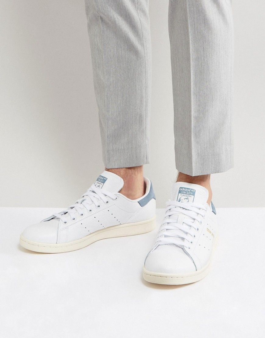 Populaire adidas Originals Stan Smith Sneakers In White CP9701 - White  VY14