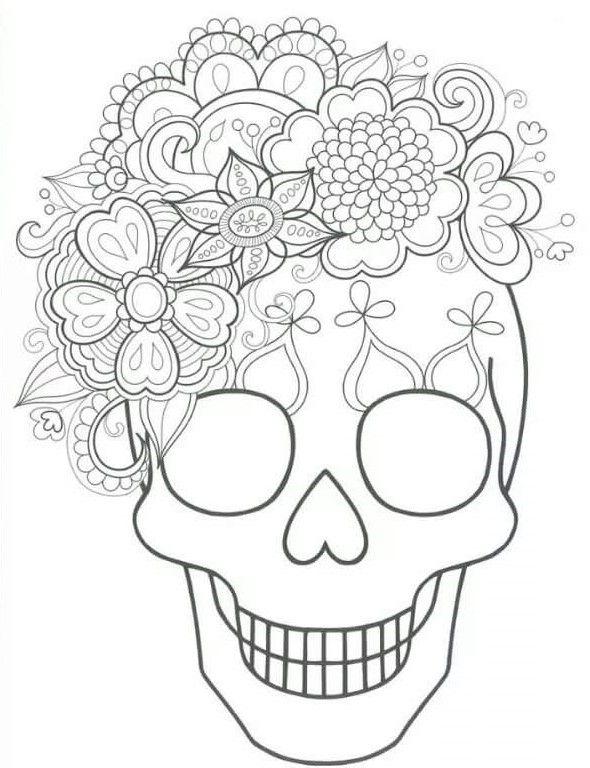 Resultado De Imagen De Dibujos Para Colorear De Halloween De