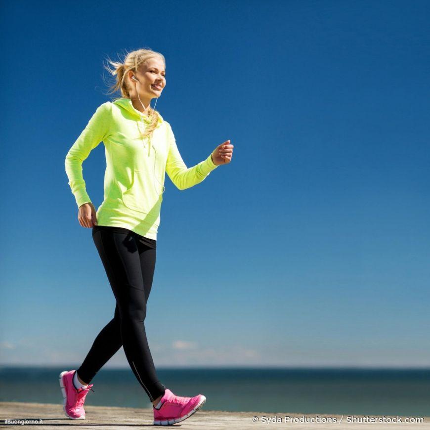 è possibile perdere peso camminando
