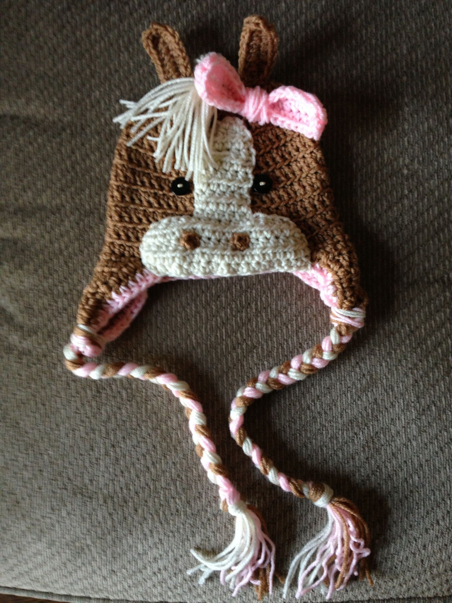 Crochet horse. My baby will own this!! CROCHET/KNIT ...