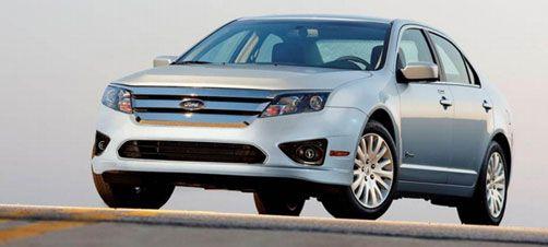 Ford Fusion Hybrid Hybridcars Com Ford Fusion Car Ford Car