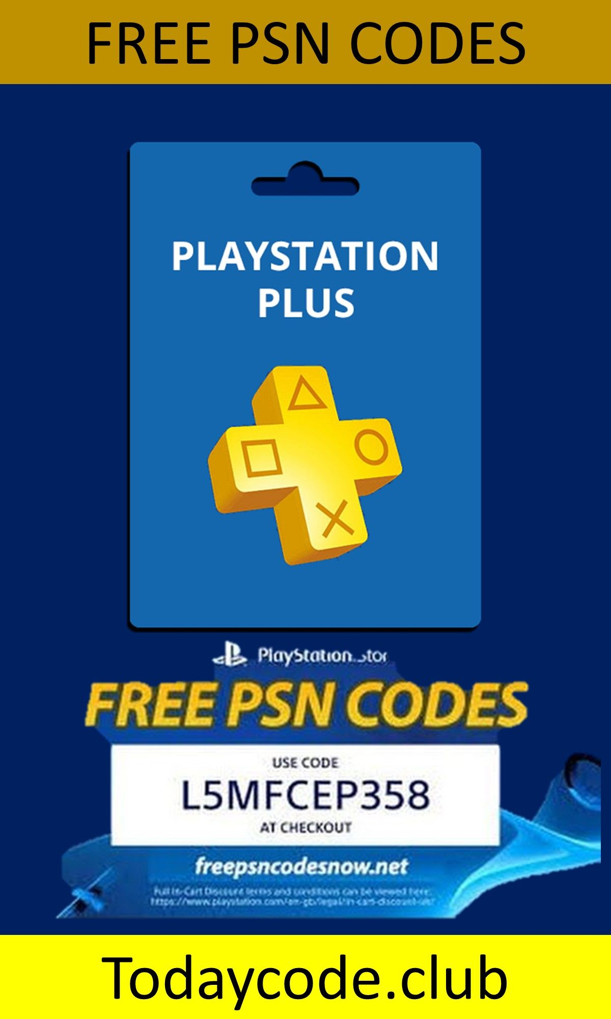 how to get free playstation plus codes