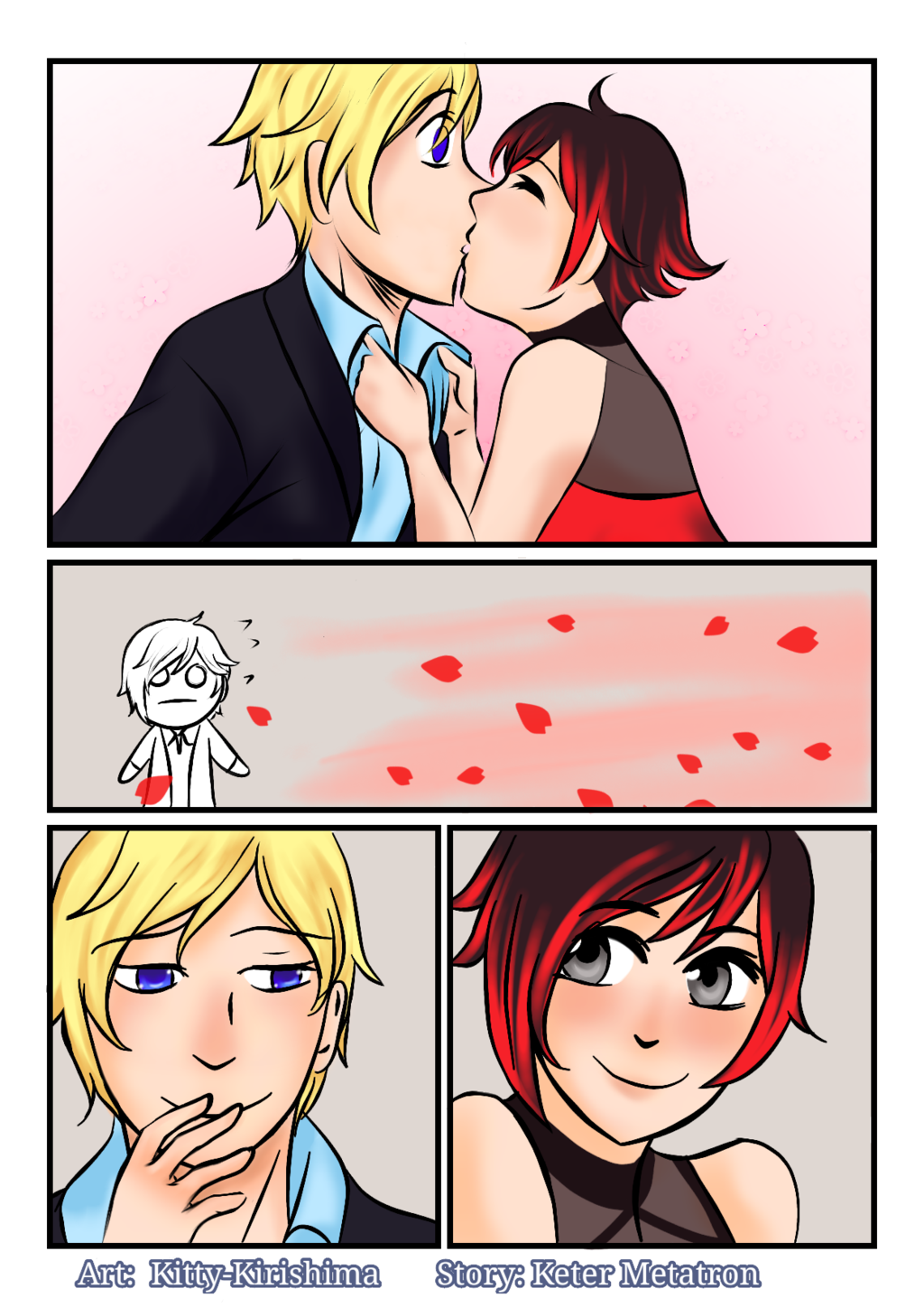 Weiss and ruby fanfiction dating
