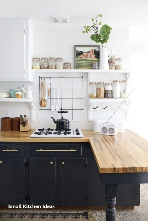57 Small Kitchen Ideas That Make Your Place Look Cool Interior