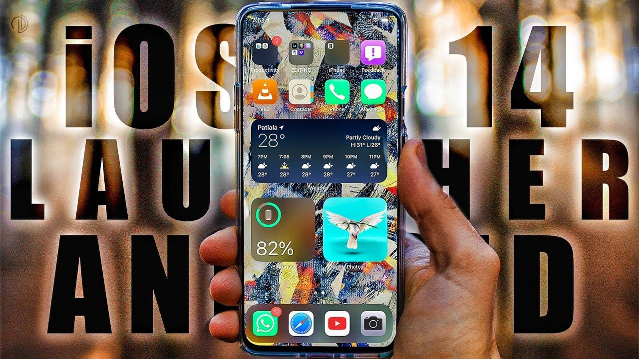 iOS 14 Launcher For Android // Make Any Android Look Like