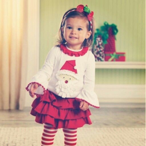 Two Cute Boutique | www.twocuteinc.com | Girls Santa Christmas Outfit - Two Cute Boutique Www.twocuteinc.com Girls Santa Christmas