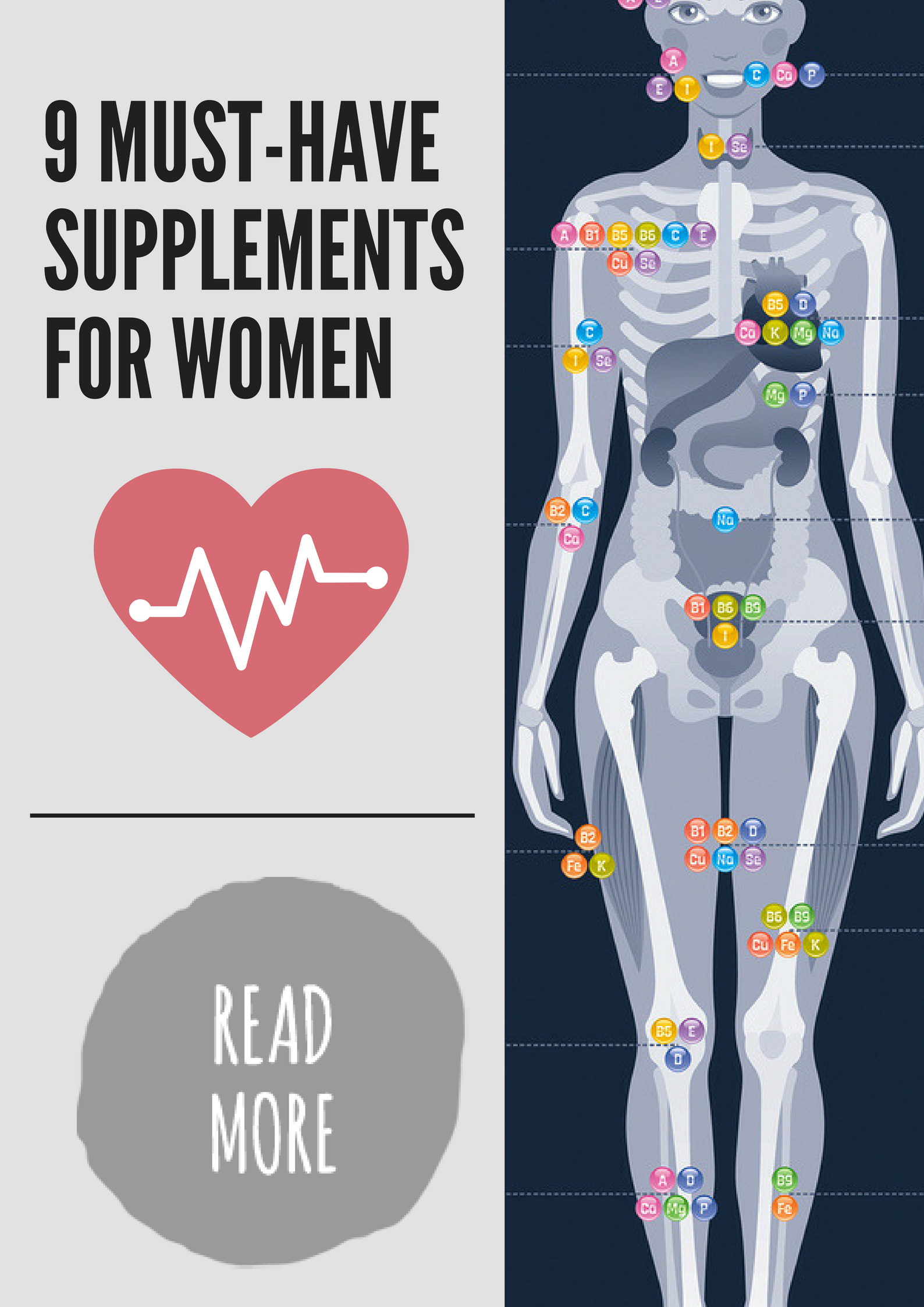 9 Must Have Nutrients For Women S Vitality And Balanced
