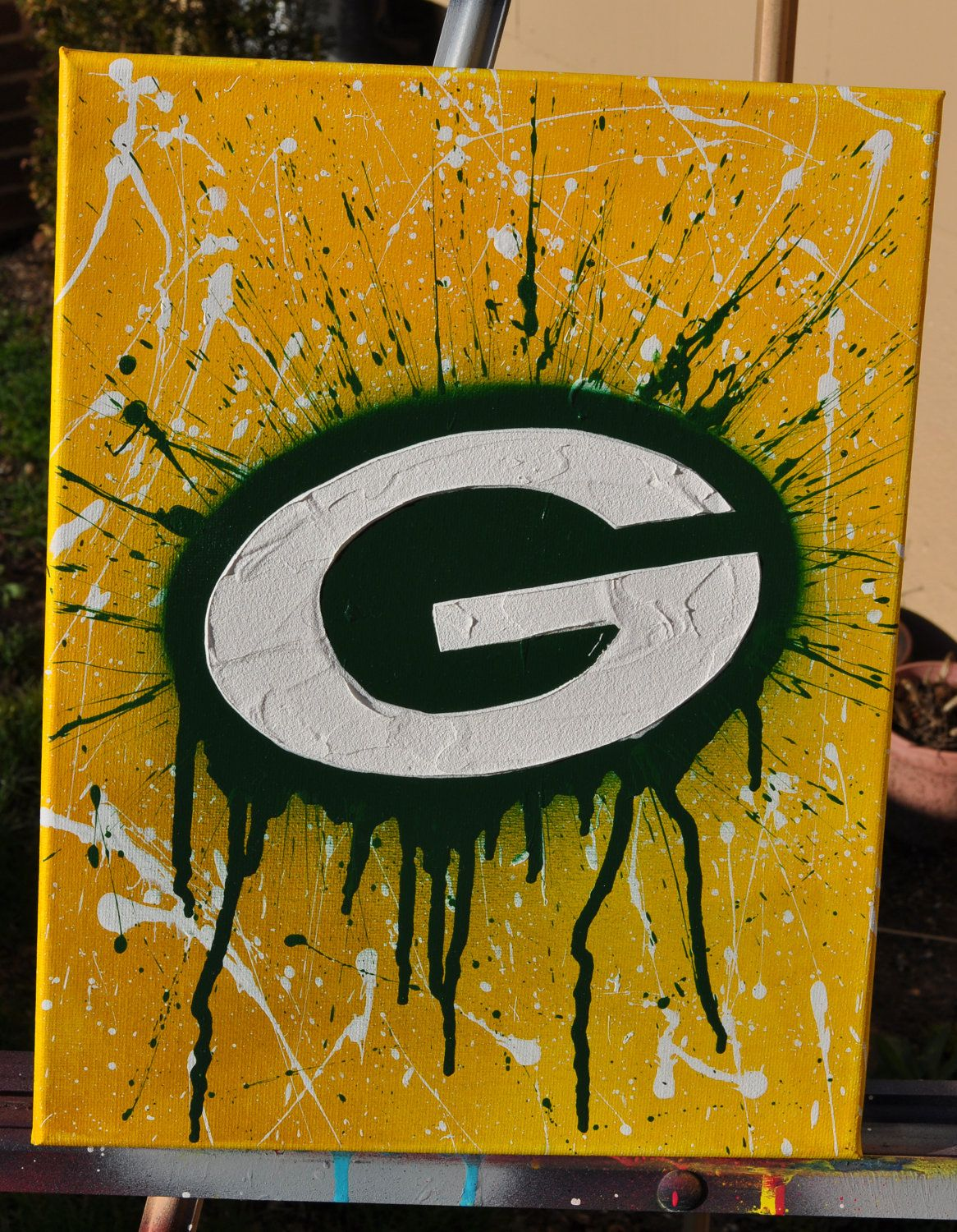 Green Bay Packers Fine Art By Summo Green Bay Packers Crafts Green Bay Packers Gifts Green Bay Packers