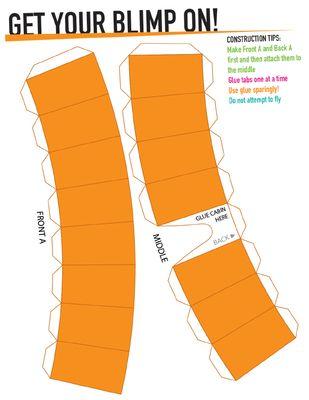 How To Make A Nickelodeon Blimp : nickelodeon, blimp, Everybody, Their, Nickelodeon, Blimp, Party.