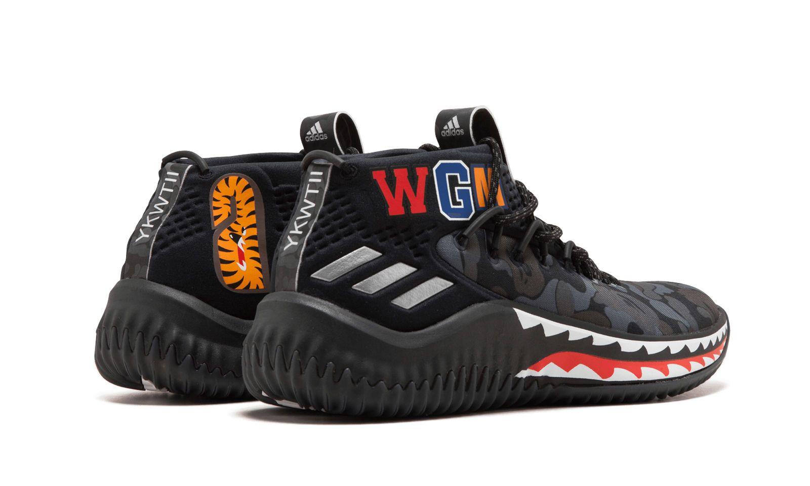 Adidas DAME4 BAPE \