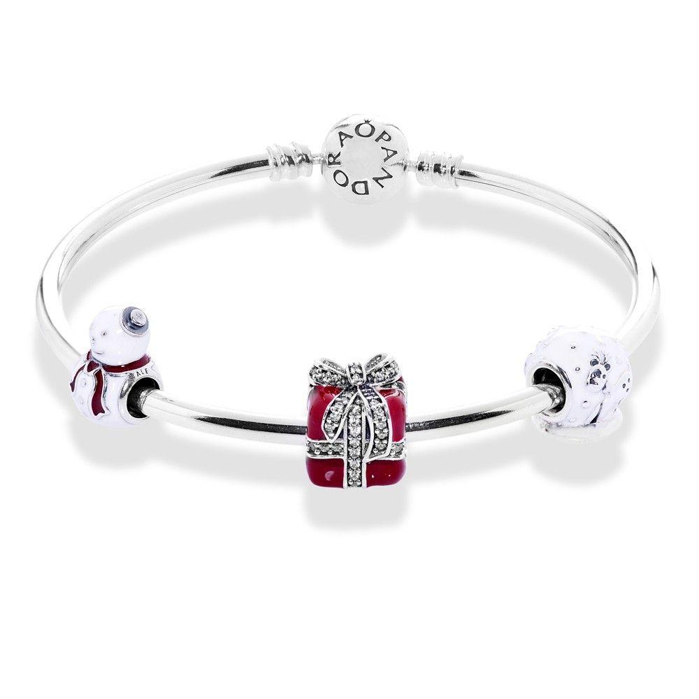 Pandora Pb02381 Advertised Snowfall Charms Bracelet