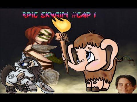 SKYRIM El mamut que asesinaba gorilas y la cazadora rusa ultra mega épica. - YouTube