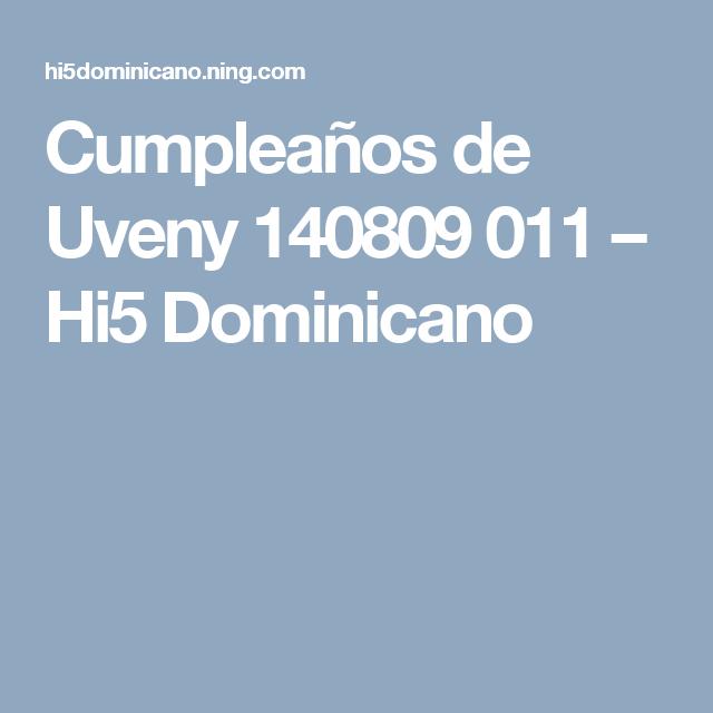 Cumpleaños de Uveny 140809 011 – Hi5 Dominicano