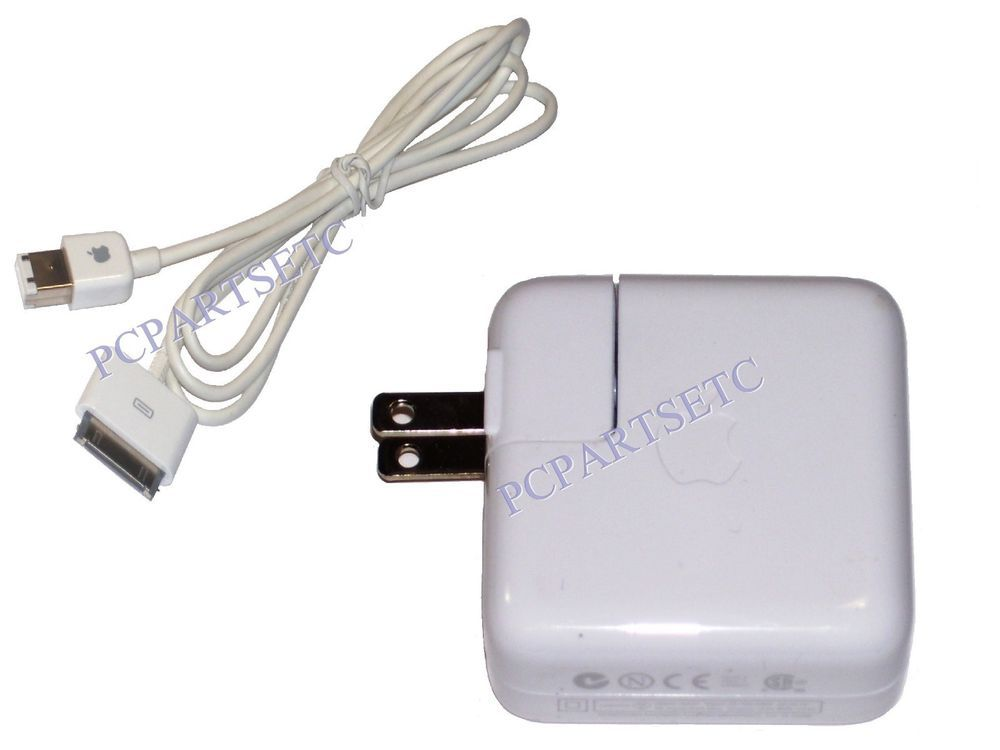 Genuine Apple iPod Mini Charger A1070 With Firewire Charge Synch Cable 591-0192
