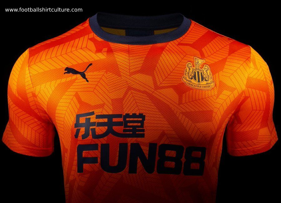 Puma Official Mens Newcastle United FC Home Football Shirt Jersey Top 2019-20