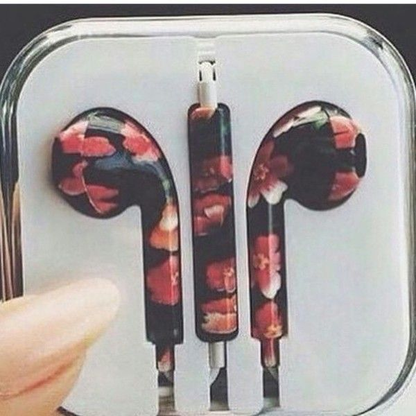 White earbuds iphone - cute earbuds iphone