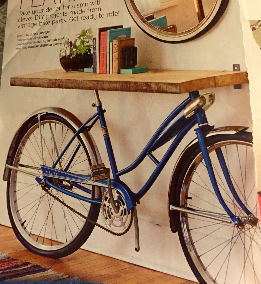 Old bike shelf bike shelf old bikes bike