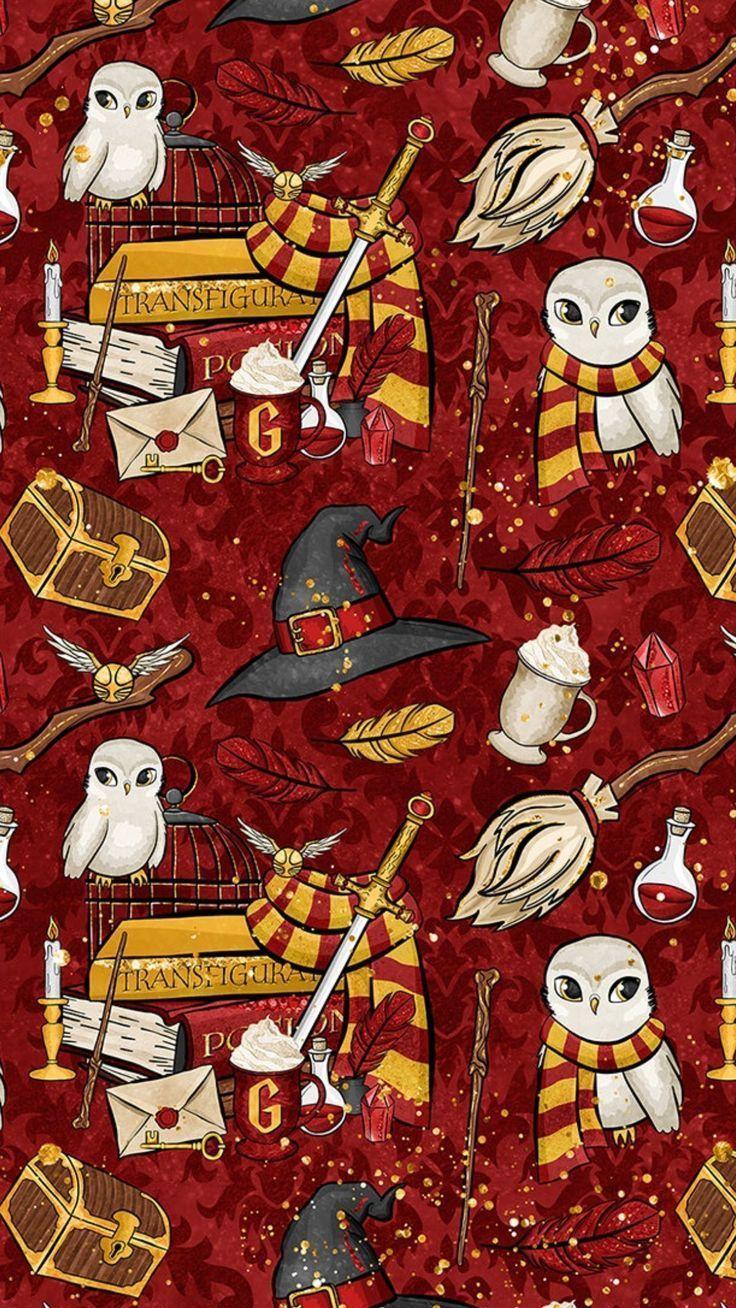 Christmas Aesthetic 12422208 iPhone Wallpaper Harry Potter