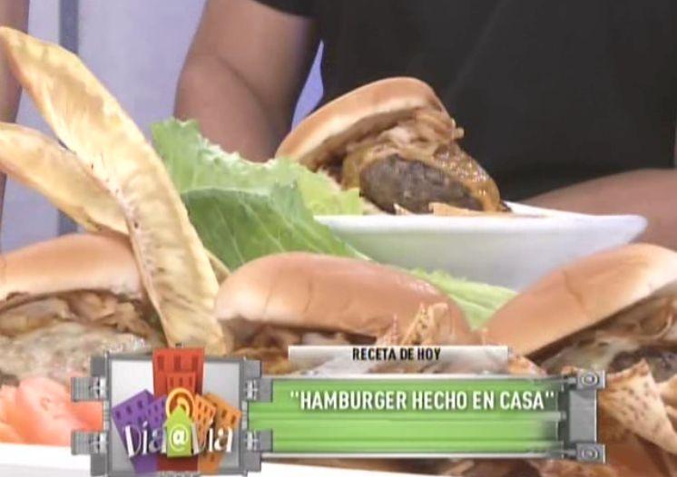 Hamburger hecho en casa - Chef Edgardo Noel