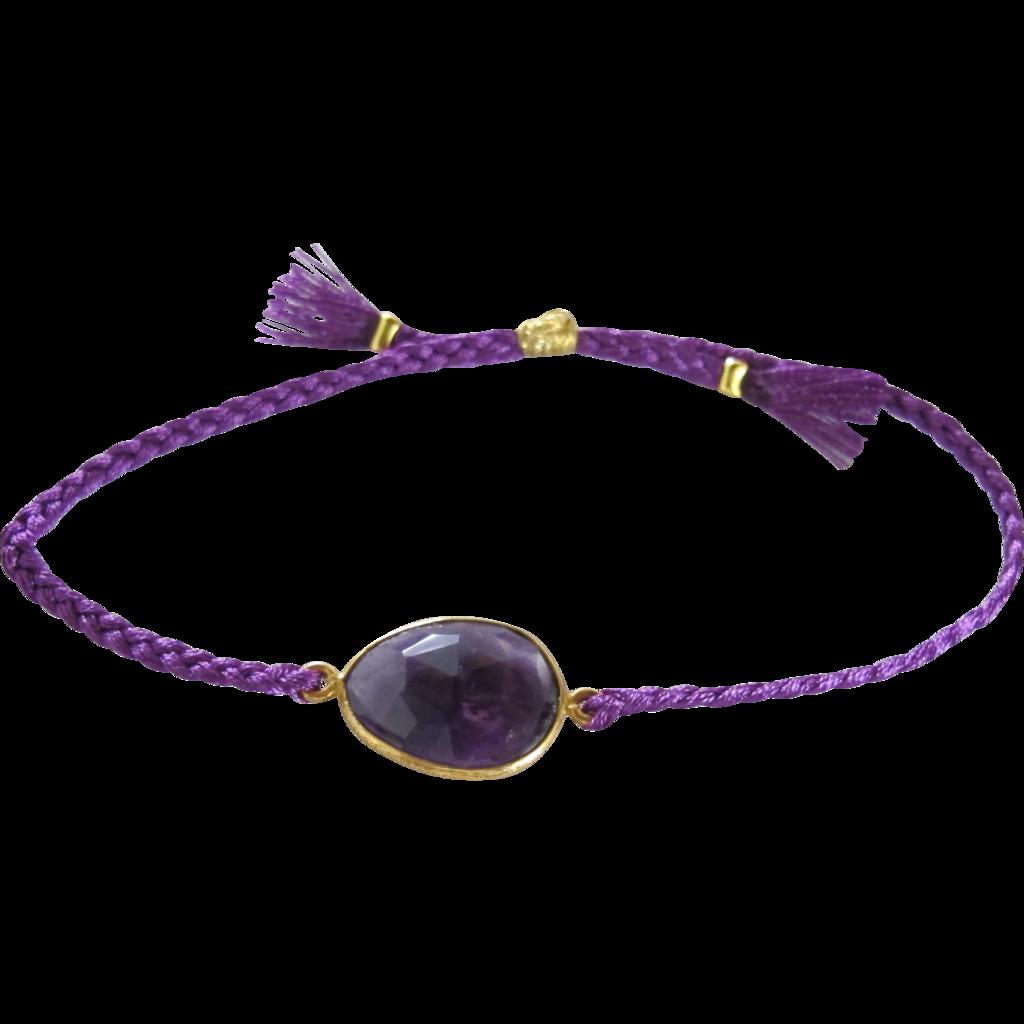Amethyst Bracelet | Nonna