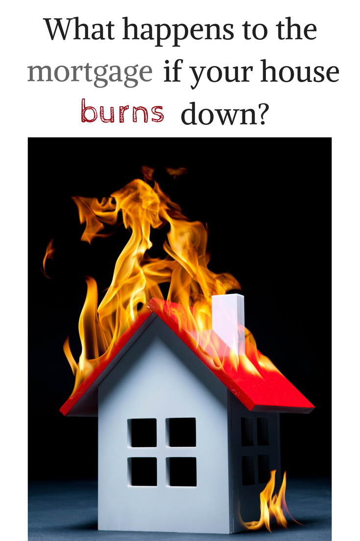 What Happens to the Mortgage When Your House Burns Down