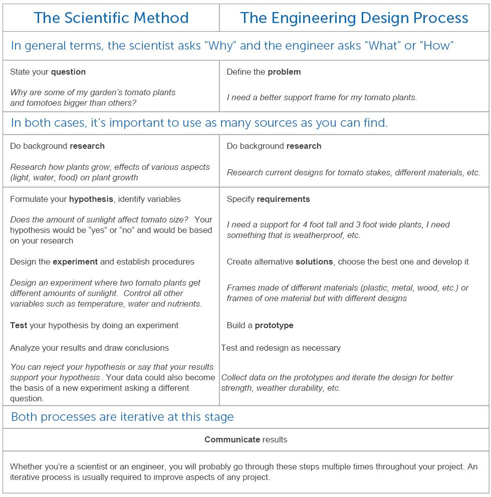Using the scientific method essay